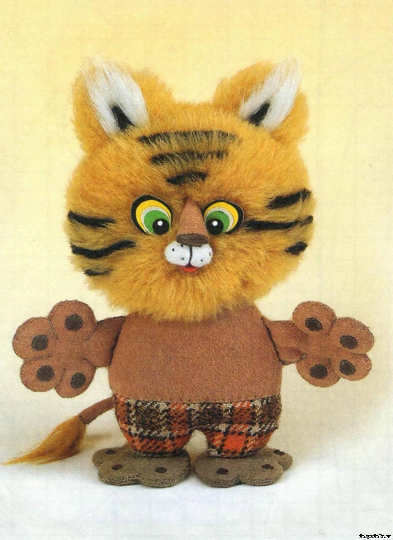 Сделать игрушку своими руками тигр