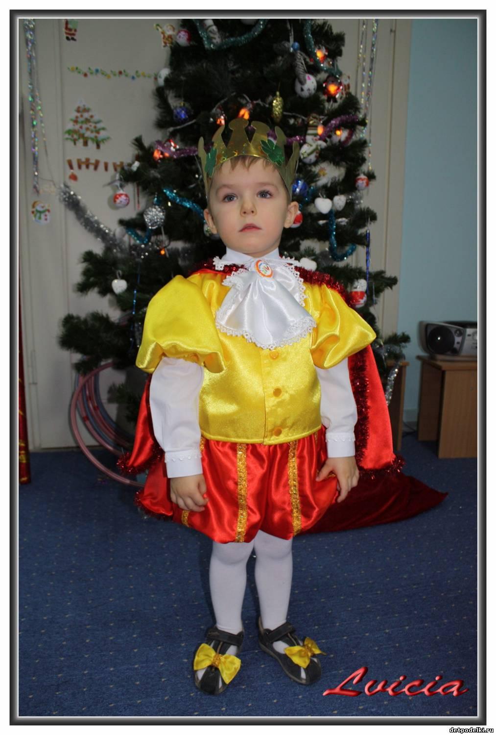 Новогодний костюм для маленького мальчика своими руками