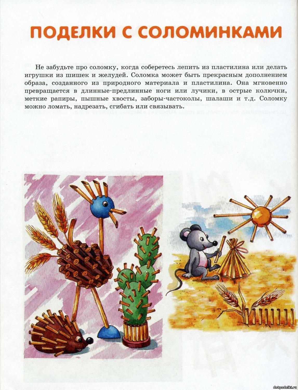 Презентация поделки из природного материала