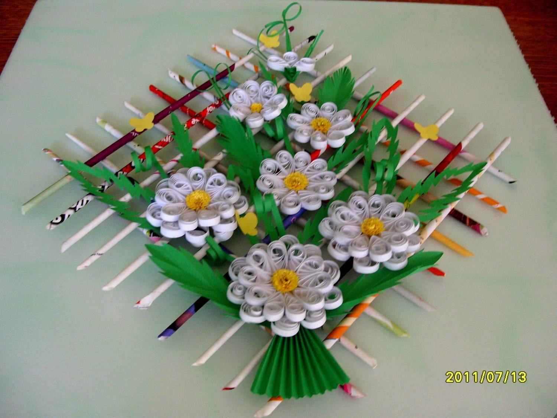 Поделки цветов своими руками картинки