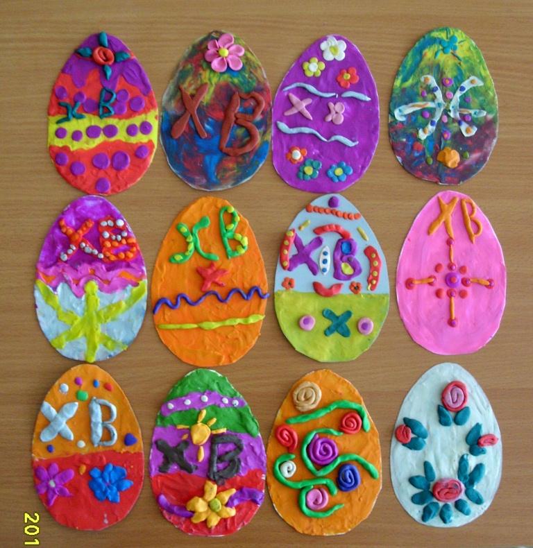 Пасхальное яйцо в детский сад своими руками