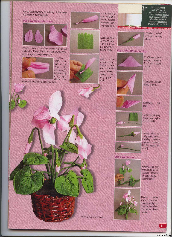 Комнатные растения своими руками поделки
