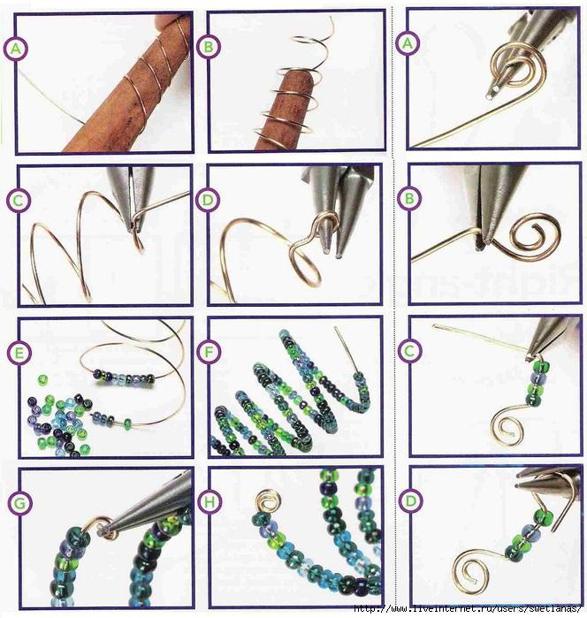 Поделки из проволоки для начинающих пошагово