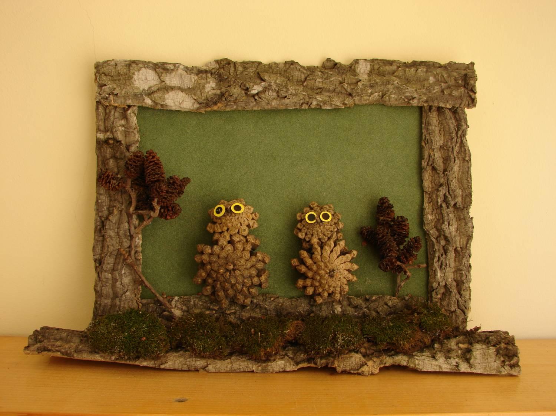 Поделка из природных материалов фото рамки