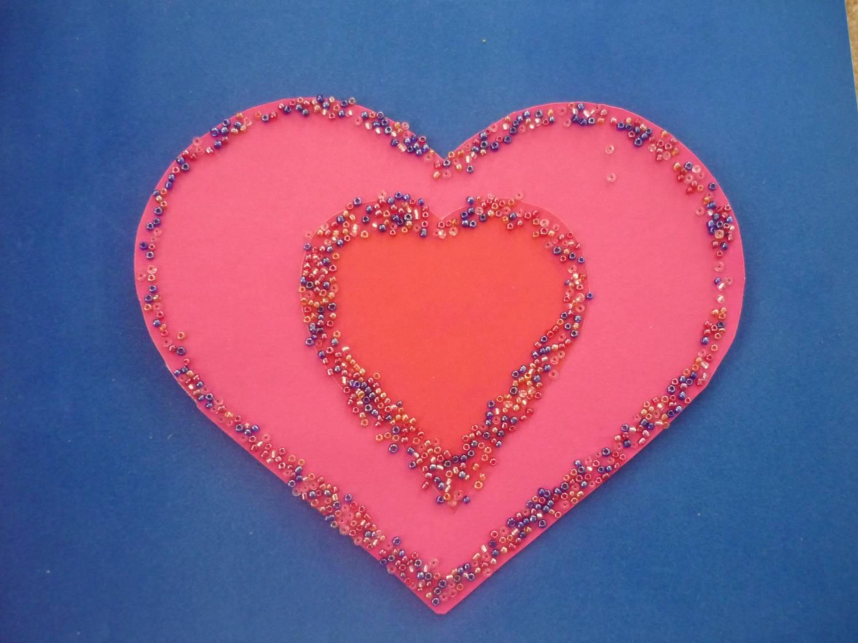 Как сделать красивую открытку в форме сердца