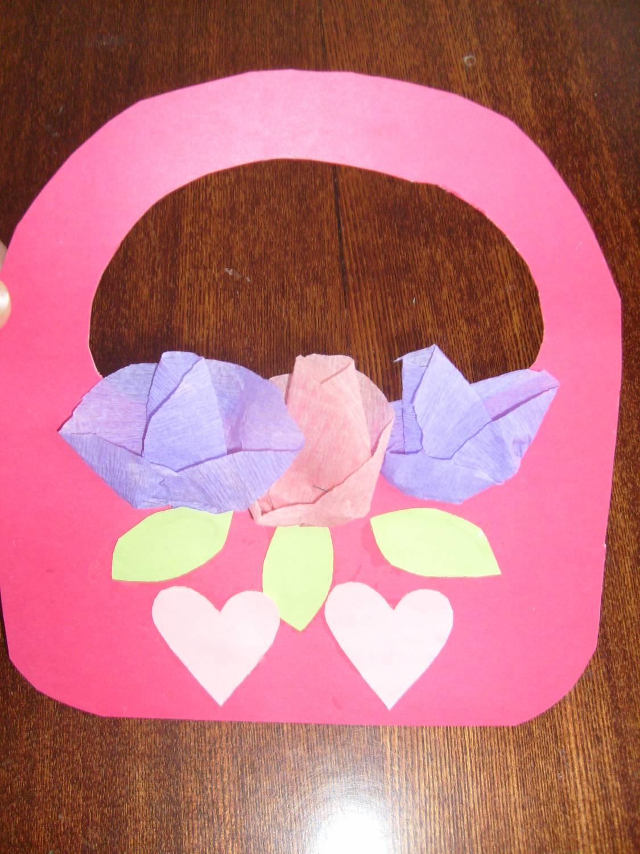 Поделка ко Дню матери в детском саду 92