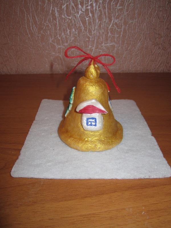 Колокол из соленого теста своими руками 93