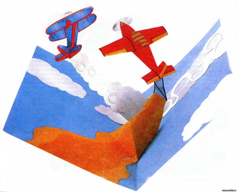 Открытки самолёты своими руками