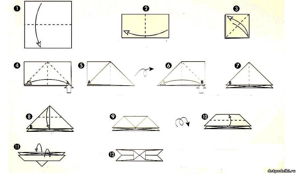 Модульные оригами из бумаги своими руками схемы