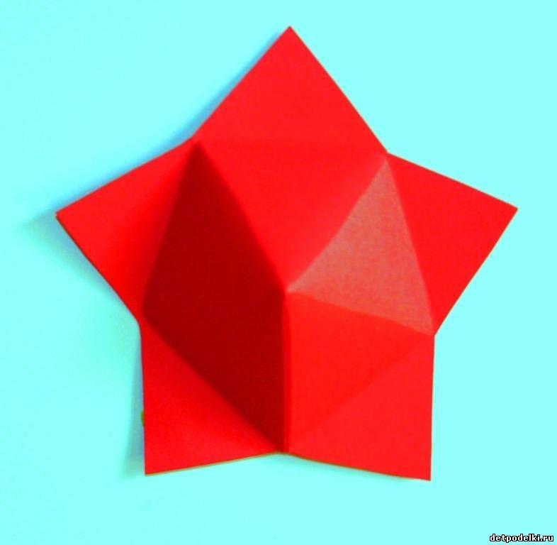Как из бумаги сделать шестиконечную звезду