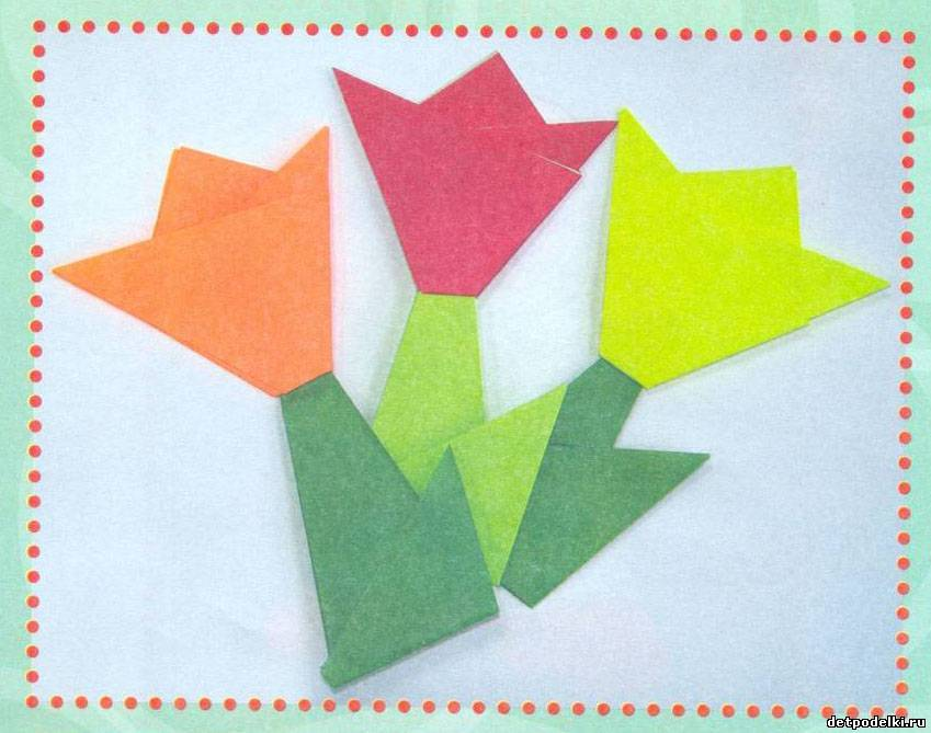 Как сделать оригами ромашку фото 778