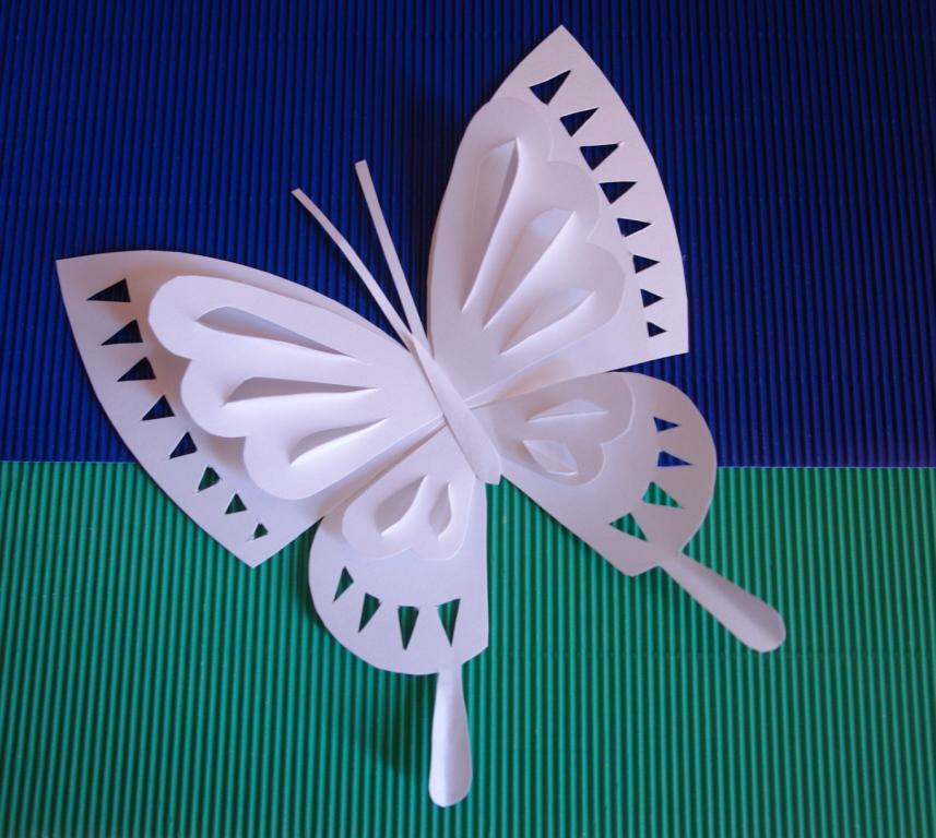 Бабочка поделки из бумаги
