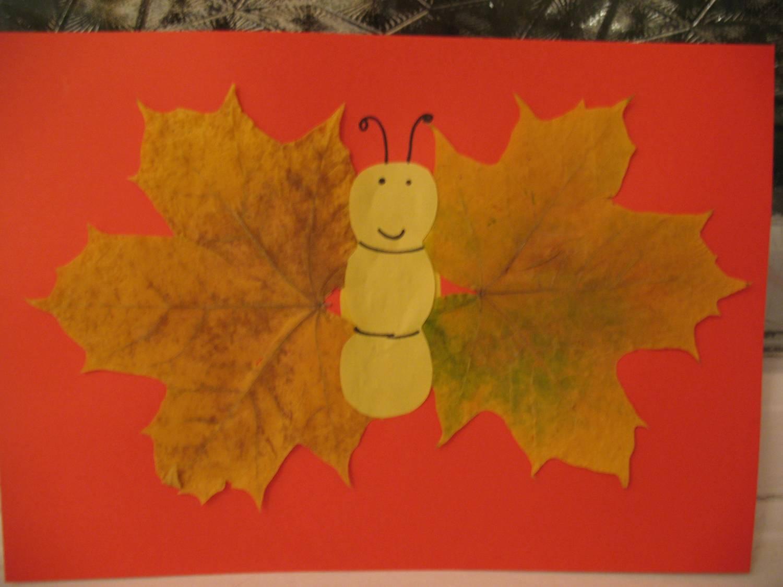 Осенние поделки детей для детского сада 434