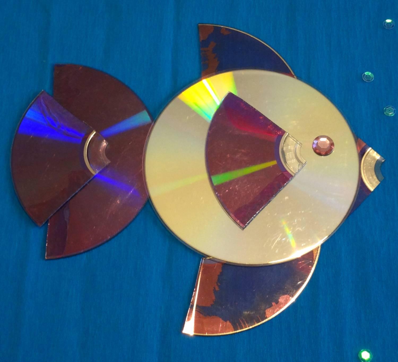Своими руками поделки из компакт-дисков