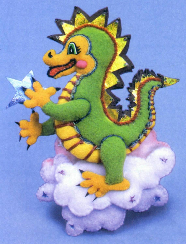 Веселый дракончик своими руками