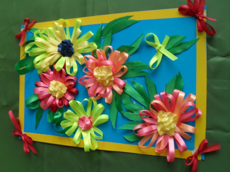 Поделка на 8 марта для детского сада своими руками